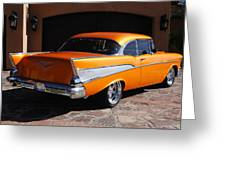1957 Chevrolet Belair Coupe Greeting Card