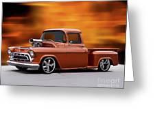 1957 Chevrolet Stepside Pickup Ll Greeting Card