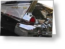 1957 Chevy Bel-air Greeting Card