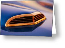 1957 Ford Thunderbird Scoop Greeting Card