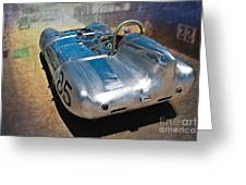 1957 Lotus Eleven Le Mans Greeting Card