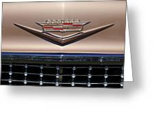 1958 Cadillac Eldorado Barritz Emblem Greeting Card