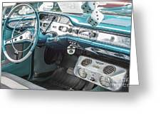 1958 Chevrolet Impala - 5 Greeting Card