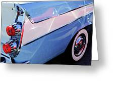 1958 Dodge Sweptside Truck Taillight Greeting Card