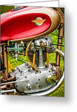 1958 Ducati 175 F3 Race Motorcycle -2119c Greeting Card