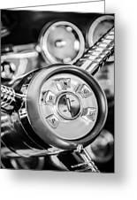 1958 Edsel Ranger Push Button Transmission 2 Greeting Card
