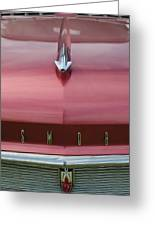 1958 Oldsmobile S-88 Hood Ornament 2 Greeting Card