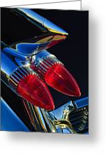 1959 Cadillac Eldorado Tail Fin 3 Greeting Card