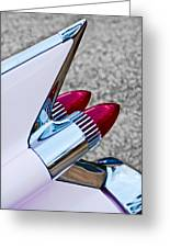 1959 Cadillac Eldorado Tail Fin Greeting Card