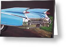 1959 Cadillac Greeting Card