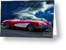 1959 Chevrolet Corvette Convertible II Greeting Card