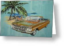 1959 Chevrolet El Camino Greeting Card