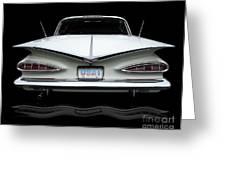 1959 Chevrolet Impala Greeting Card