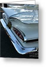1959 Chevrolet Impala Tailfin Greeting Card