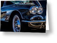 1959 Chevy Corvette Greeting Card