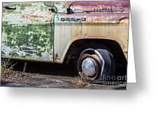 1959 Dodge D100 Sweptline Power Giant Pickup Greeting Card