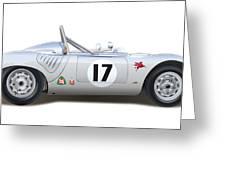 1959 Porsche Type 718 Rsk Spyder Greeting Card