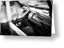 1959 Volkswagen T1 Interior Greeting Card