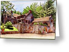 #196 Bourn Cottage Greeting Card
