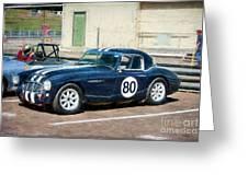 1960 Austin Healey 3000 Greeting Card