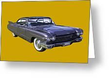 1960 Cadillac - Classic Luxury Car Greeting Card