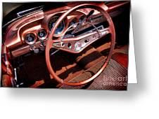 1960 Chevrolet Impala Convertible Greeting Card