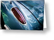 1960 Corvette Taillight Greeting Card