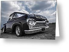 1960 Ford F100 Truck Greeting Card