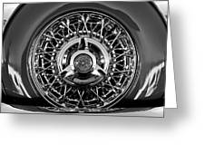 1960 Ford Thunderbird Spare Tire 2 Greeting Card