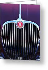 1960 Jaguar Xk150 Roadster 2 Greeting Card