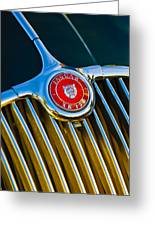 1960 Jaguar Xk150 Roadster 3 Greeting Card
