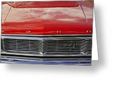 1960s Ford Galaxie Greeting Card