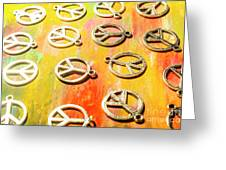 1960s Peace Movement Greeting Card