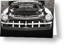 1951 Mercury Classic Car Photograph 010.01 Greeting Card