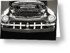 1951 Mercury Classic Car Photograph 011.01 Greeting Card