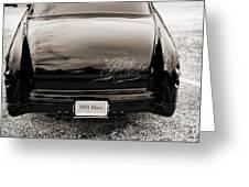 1951 Mercury Classic Car Photograph 018.01 Greeting Card