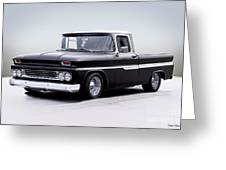 1962 Chevrolet Shortbed Pickup I Greeting Card