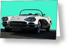 1962 Corvette Greeting Card