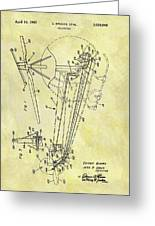 1962 Helicopter Patent Greeting Card