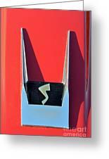 1962 Studebaker Avanti Badge Greeting Card