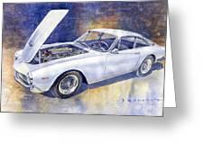 1963-1964 Ferrari 250 Gt Lusso  Greeting Card