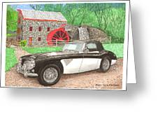 1963 Austin And Sudbury Mill Greeting Card