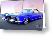 1963 Buick Riviera Greeting Card