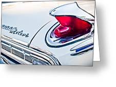 1963 Mercury Meteor Taillight Emblem Greeting Card