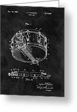 1963 Snare Drum Patent Greeting Card