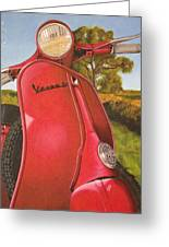 1963 Vespa 50 Greeting Card