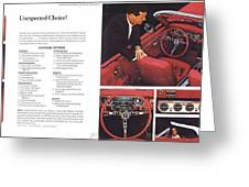 1964 Ford Mustang-06-07 Greeting Card