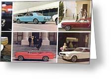 1964 Ford Mustang-10-11ab Greeting Card
