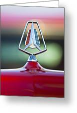 1964 Plymouth Hood Ornament Greeting Card