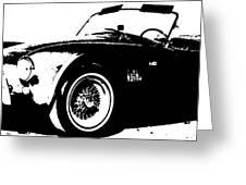 1964 Shelby Cobra Sketch Greeting Card